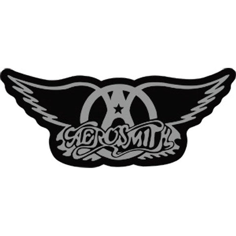 Aerosmith Logo Sticker Wings