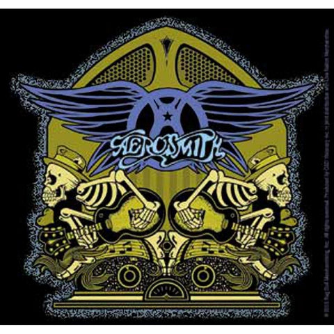 Aerosmith Radio Skellys Sticker