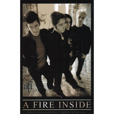 AFI A Fire Inside Band Sticker