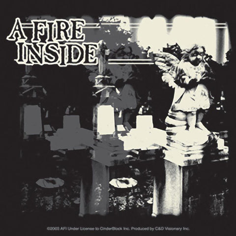 AFI A Fire Inside Statue Sticker
