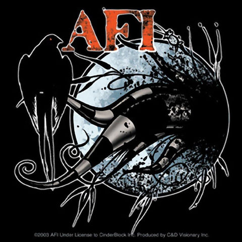 AFI Crow Sticker