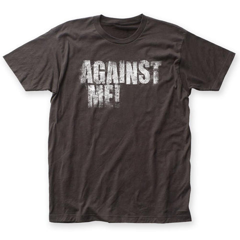 Against Me! Logo Fitted Men's T-Shirt