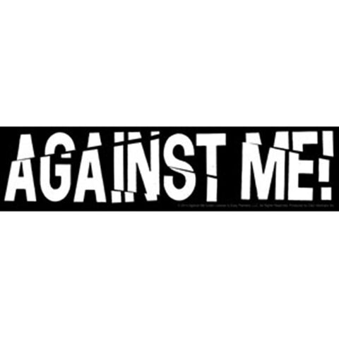 Against Me! Sliced Logo Sticker