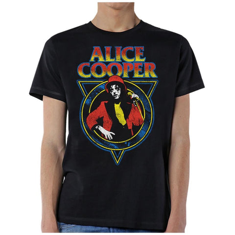 Alice Cooper Snake Skin V1 Men's Black T-Shirt