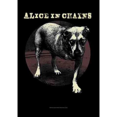 Alice In Chains Grin Wall Fabric Poster