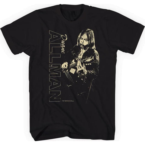 Allman Brothers Duane Allman Guitar Player Men's T-Shirt