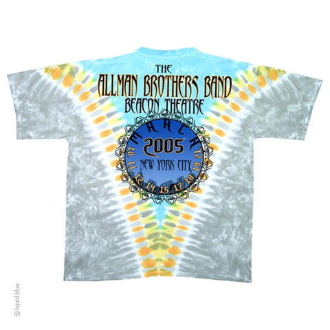 Allman Brothers Flying Peach Men's T-shirt