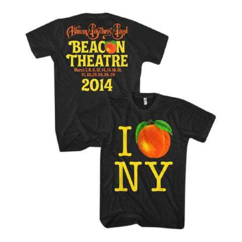 Allman Brothers I Peach NY Men's T-Shirt