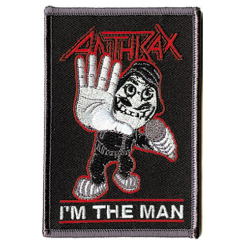 Anthrax Man Embroidered Patch