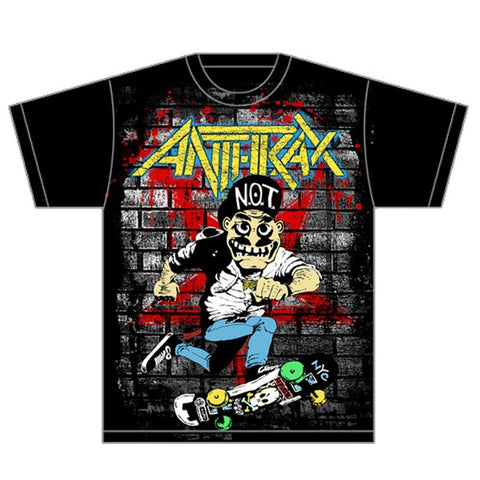 Anthrax Skater Guy Men's T-Shirt
