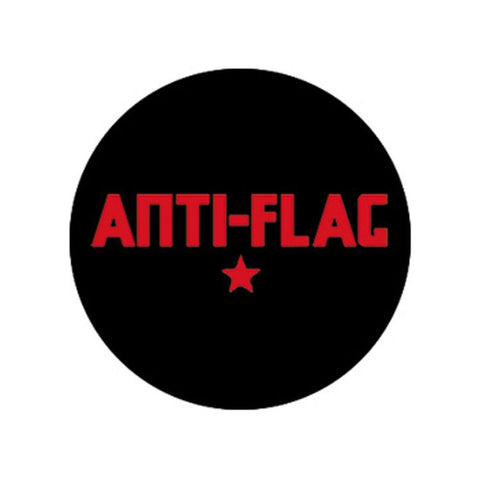 Anti-Flag Logo Button
