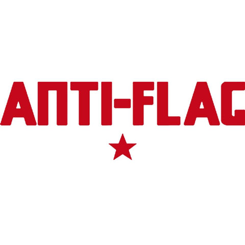 Anti-Flag Logo Rub-On Sticker - Red