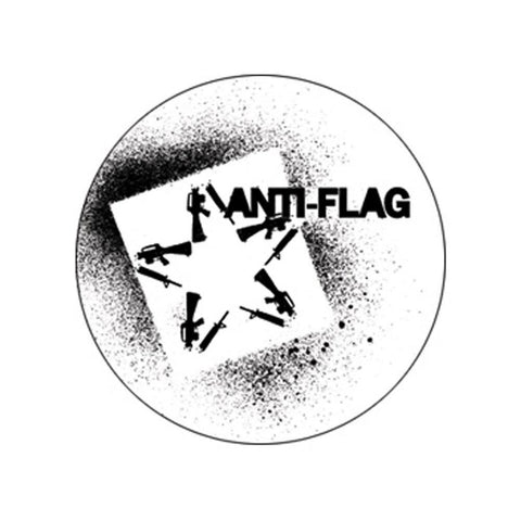 Anti-Flag Star Button