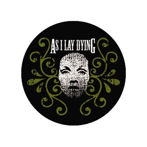 As I Lay Dying Girl Button