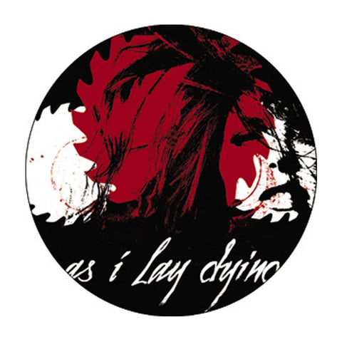 As I Lay Dying Saw Blade Button