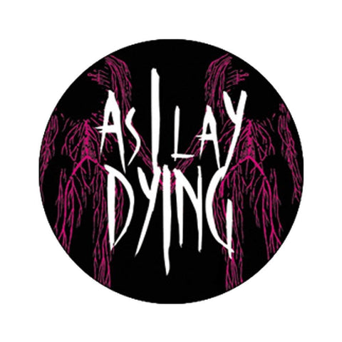 As I Lay Dying Skeleton Lovers Button