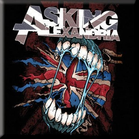 Asking Alexandria Flag Eater Fridge Magnet