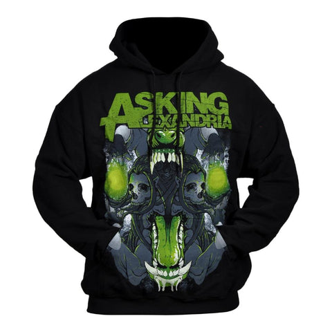 Asking Alexandria Teeth Men's Pullover Hoodie