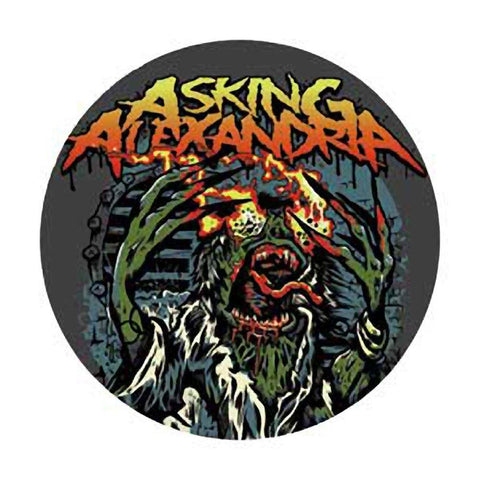 Asking Alexandria Witch Button