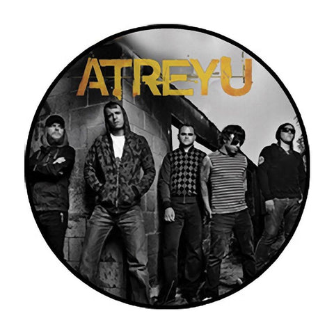 Atreyu Band Photo Button