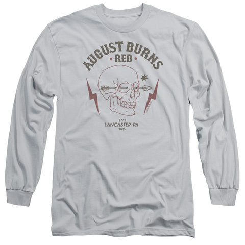 August Burns Red Special Order Arrow Skull Men's 18/1 Long Sleeve 100% Cotton T-Shirt