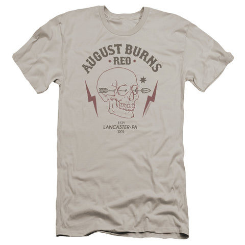 August Burns Red Special Order Arrow Skull Men's Premium Ultra-Soft 30/1 100% Cotton Slim Fit T-Shirt - Eco-Friendly - Made In The USA