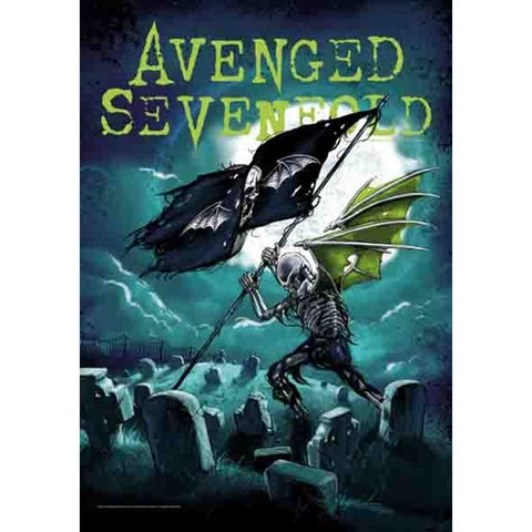 Avenged Sevenfold Cemetary Fabric Poster