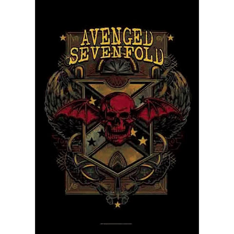 Avenged Sevenfold Death Crest Fabric Poster