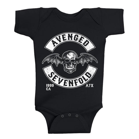 Avenged Sevenfold Deathbat Est 1999 One-Piece Bodysuit