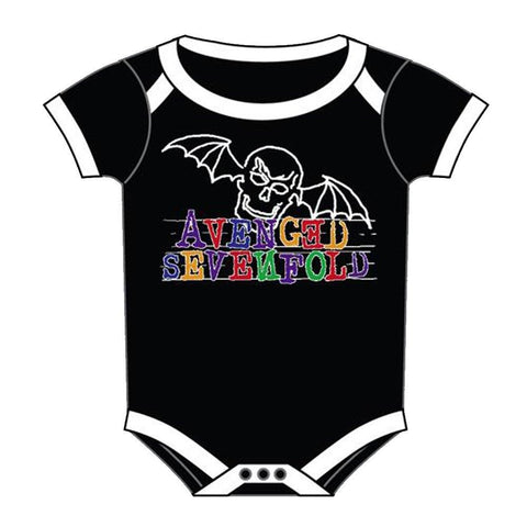 Avenged Sevenfold Doodlebat One-Piece Bodysuit
