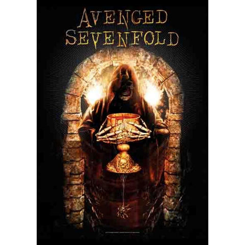 Avenged Sevenfold Golden Arch Fabric Poster