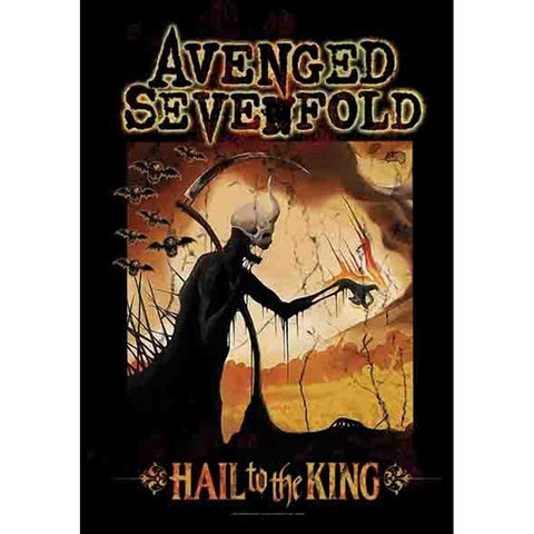 Avenged Sevenfold Reaper Fabric Poster
