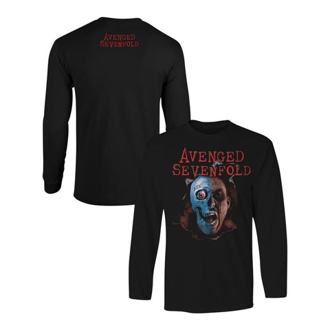 Avenged Sevenfold Two Face Men's Longsleeved T-Shirt