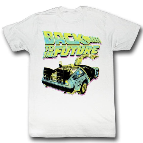 Back To The Future Special Order Btf Neon Adult S/S T-Shirt