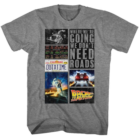 Back To The Future Special Order Future Hits T-Shirt