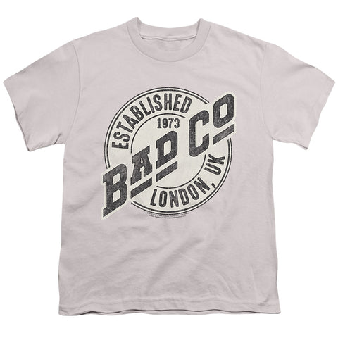 Bad Company Established Youth 18/1 100% Cotton SS T