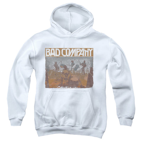 Bad Company Swan Song Youth Cotton Poly Pull-Over Hoodie