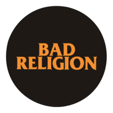 Bad Religion Classic Text Button