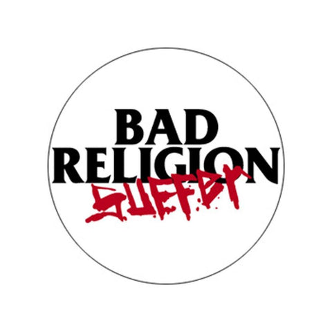 Bad Religion Suffer Button