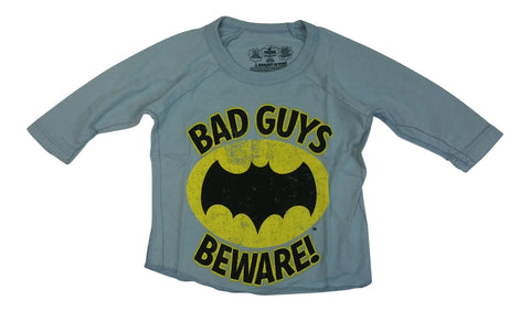 Batman Bad Guys Infant 3/4 Sleeve Raglan T-Shirt