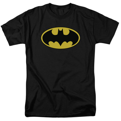 Batman Classic Logo Men's 18/1 Cotton Short-Sleeve T-Shirt
