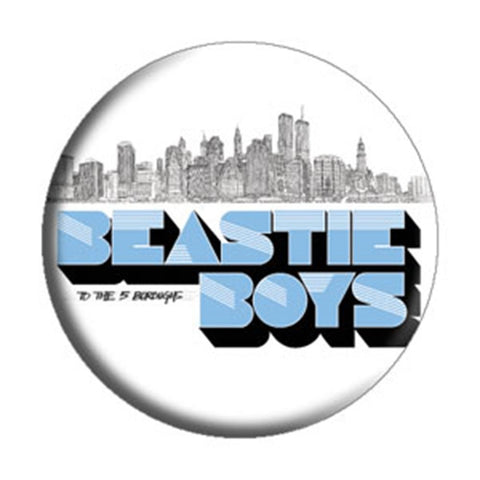 Beastie Boys 5 Boroughs City Button
