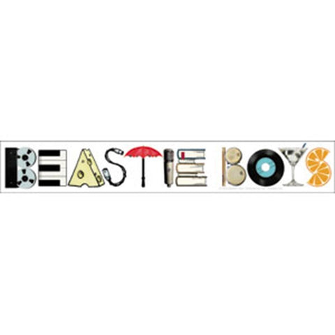 Beastie Boys Mix It Up Sticker