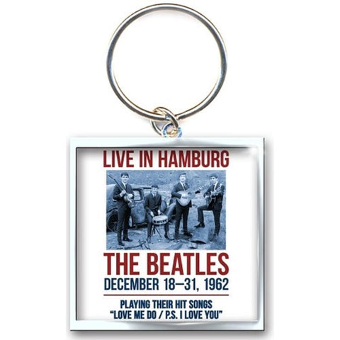 Beatles 1962 Hamburg Keychain