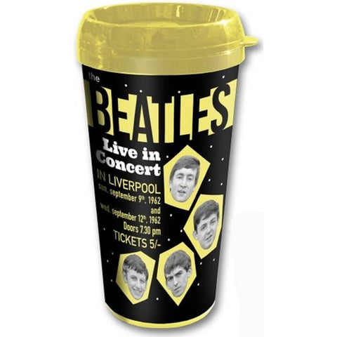 Beatles 1962 Live In Concert Travel Mug