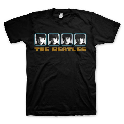 Beatles 1964 Portraits Photo Reel Men's T-Shirt