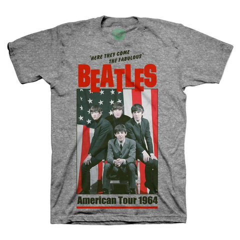 Beatles 1964 Tour Men's T-Shirt
