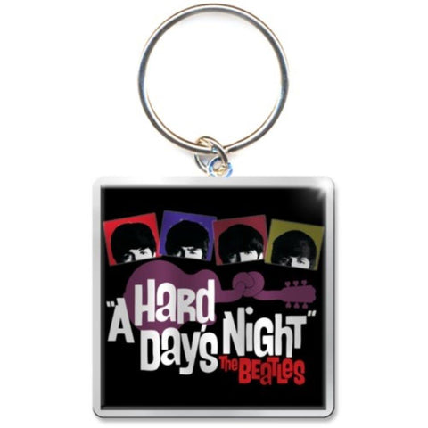 Beatles A Hard Day's Night Guitar Keychain