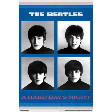 Beatles A Hard Day's Night Wall Poster