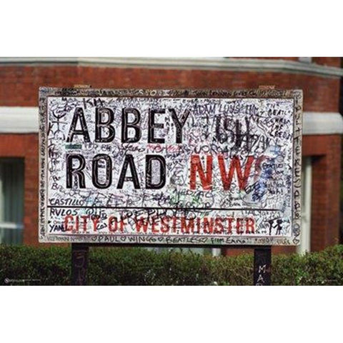 Beatles Abbey Road City Of Westminster Wall Poster